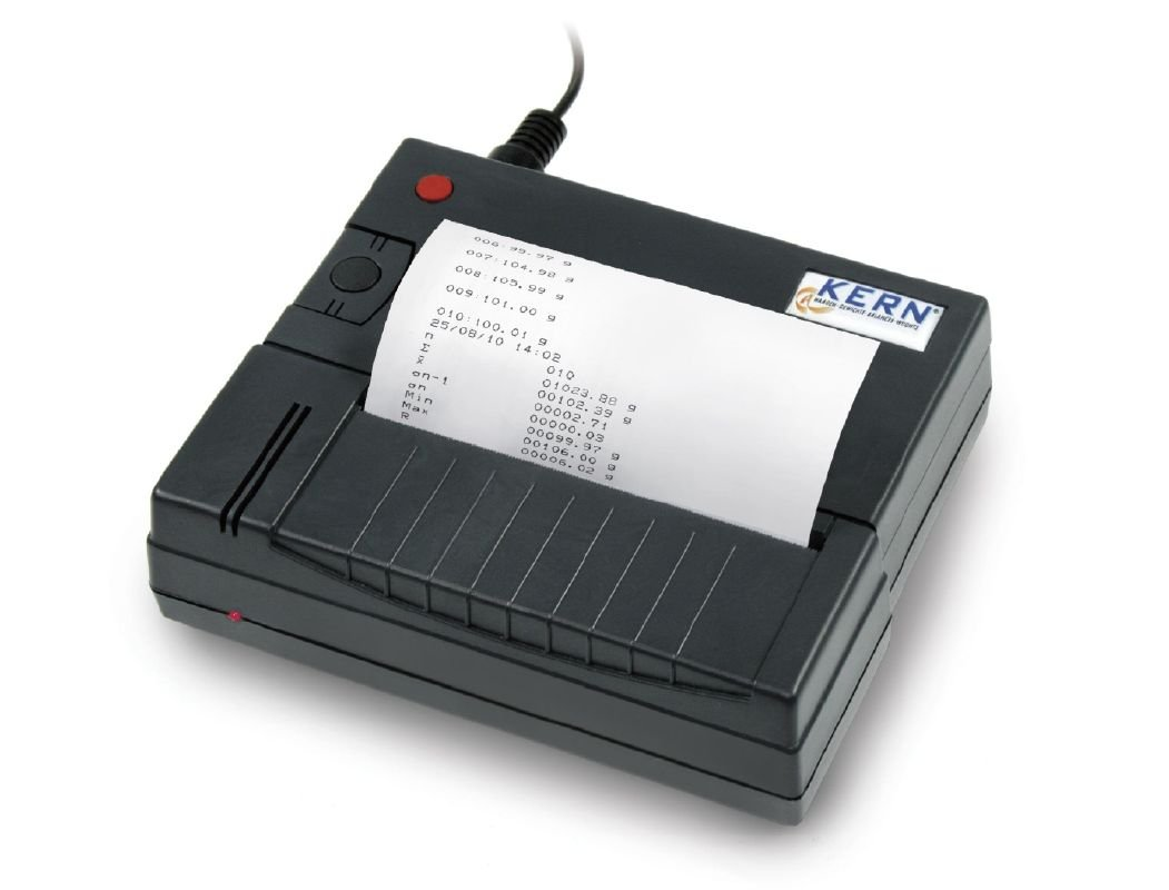 Kern YKS-01 - Impresora térmica de estadísticas para Balanzas RS ...