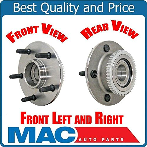((2) FRT WHEEL BEARING AND HUB ASSM Fits 00-01 Ram 1500 Rear Wheel Drive Pick Up )
