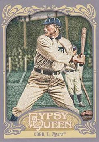 2012 Topps Gypsy Queen #229a Ty Cobb Tigers MLB Baseball Card NM-MT