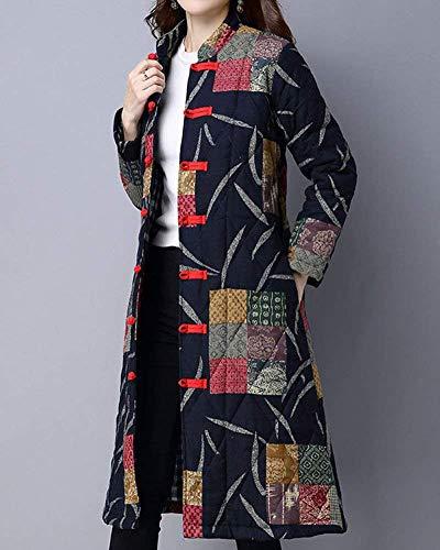 Manica Classiche Estilo Donna Especial Single Outerwear Primaverile Giacca Lunga Marine Confortevole Stampati Breasted Autunno Fashion Trench Cappotti Vintage zISvqPpcSR