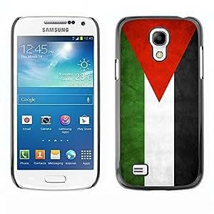 YiPhone /// Prima de resorte delgada de la cubierta del caso de Shell Armor - Jordan Grunge Flag - Samsung Galaxy S4 Mini i9190 MINI VERSION!