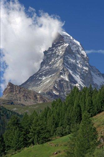 Matterhorn in Zermatt Switzerland Journal: 150 page lined notebook/diary by Cool Image - Images Zermatt