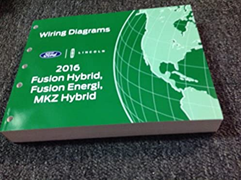 2016 ford fusion lincoln mkz wiring diagram manual original ford rh amazon com 2015 Lincoln MKZ 2016 Lincoln MKT