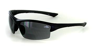 132cc7c0251 Aloha Eyewear quot Stone Creek MX1 quot  Men s Wrap-Around Bifocal Reading  Sports Sunglasses (