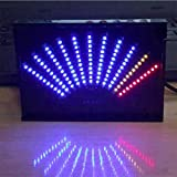 Level indicator ASK11 LED Music Audio Spectrum Display VU Meter Fan-shaped Pointer Level Indicating Amplifier With Case (F)