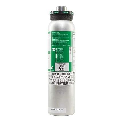 Botella de calibración 4 gases 60 ppm