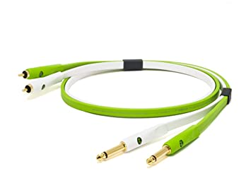 Neo NEORTS2M 2 m D + clase B 1/4 TS a RCA Cable