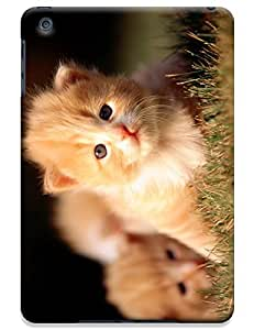 Baby Cats play on the glass together cell phone cases for Apple Accessories iPadmini iPad Mini