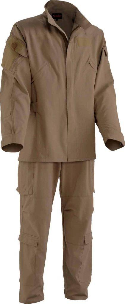 Drifire Phoenix II Fire Resistant Flight Suit Khaki Pants/Jacket US Army Large Short