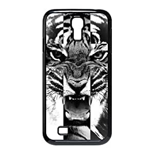 taoyix diy Tiger Roar Cross ZLB513897 DIY Phone Case for SamSung Galaxy S4 I9500, SamSung Galaxy S4 I9500 Case