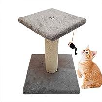 君のベイマックス 猫 爪とぎタワー キャットタワー 麻縄 ポール型 ...