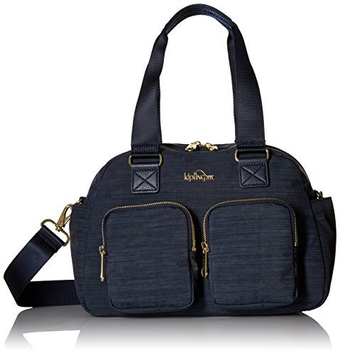 Kipling Defea True Dazz Navy Satchel, Truedznavy