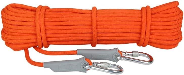 PJAQS クライミングロープ12 mm直径屋外登山アクセサリー高強度ロープ安全ロープ(12 mm) (Size : 40m(131.2ft))  40m(131.2ft)