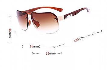 sonnenbrille Männer metall Kopie Linse brillen mode Große rahmen sonnenbrille Persönlichkeit Jurte Doppelte graue Linse Ejb2BSpIe