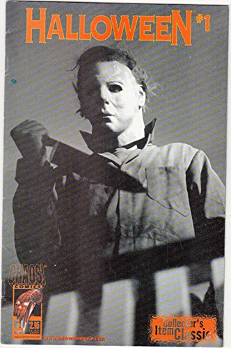 Halloween # 1 | Chaos Comics | Michael Myers Variant Cover -