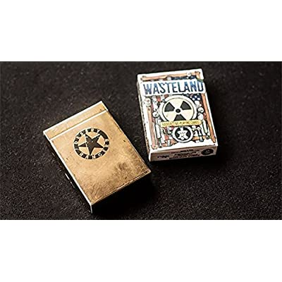 Gamblers Warehouse Playing Cards | Wasteland Desert Ranger Edition Playing Cards by Jackson Robinson| Custom Design | Collectable: Toys & Games
