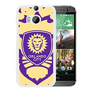 Popular And Lovely Designed Case For HTC ONE M8 With orlando city sc 08 White Phone Case