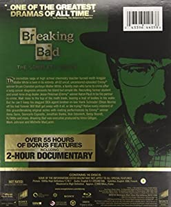 Breaking Bad: The Complete Series [Blu-ray + UltraViolet] by Sony Pictures Home Entertainment