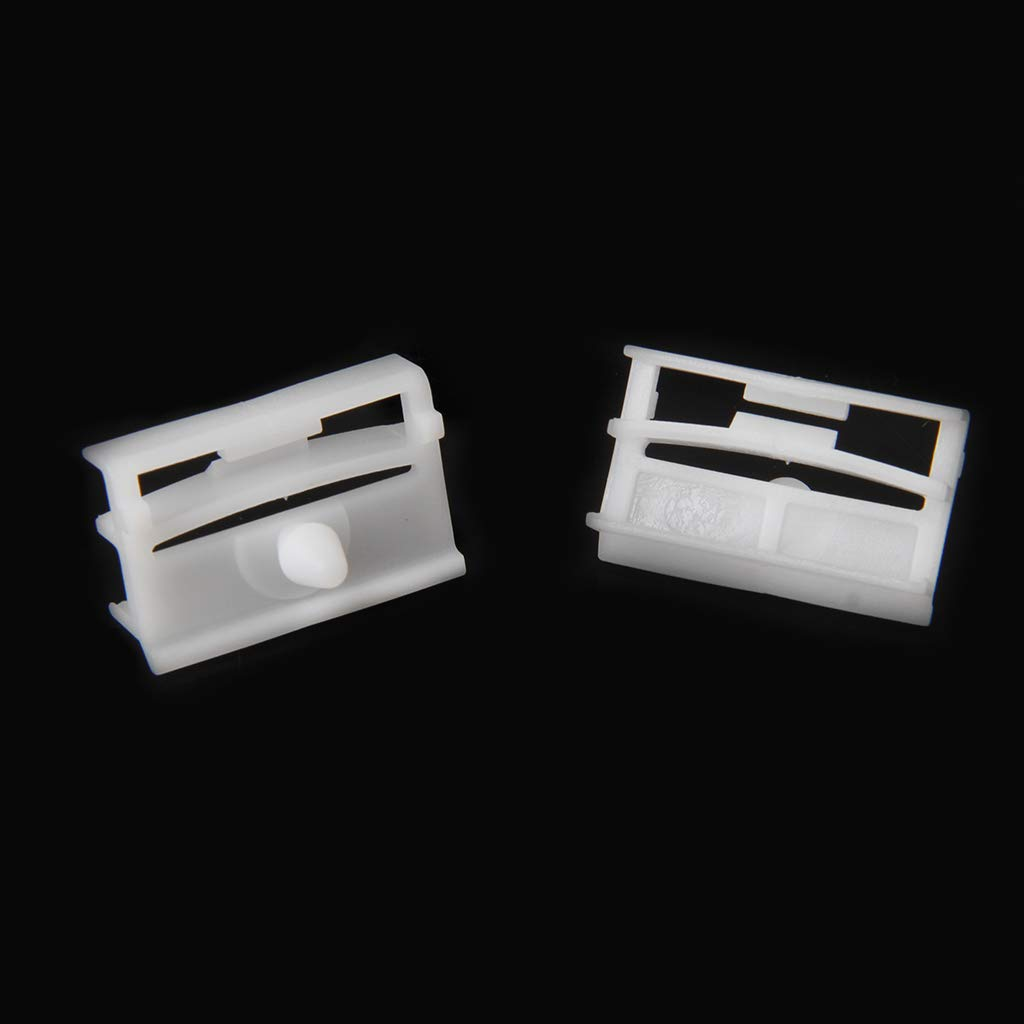JENOR 20x Exterior Side Sill Skirt Trim Clip Fasteners 51718184574 For BMW E36 E46
