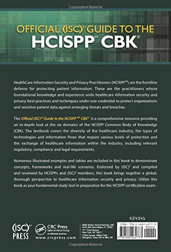official (isc)2 guide to the hcispp cbk: steven hernandez ...