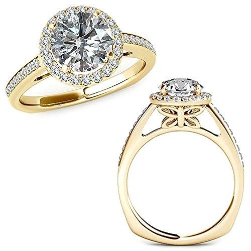 1.01 Carat G-H Diamond Beautif