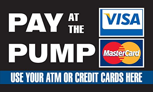 (Pump Topper Inserts - Pay At the Pump with Credit Card (12