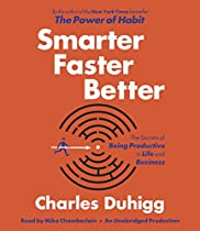 BOOK Smarter Faster Better: The Secrets of Being Productive in Life and Business P.P.T