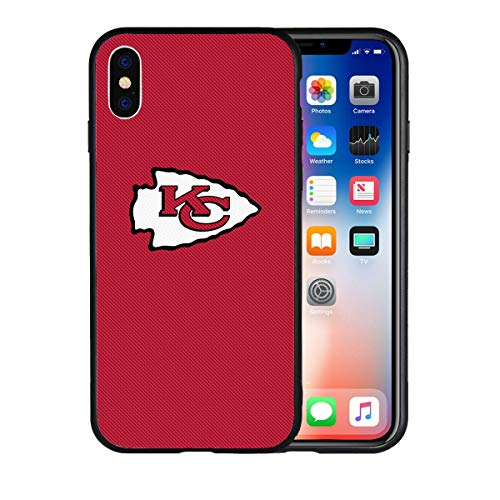 - Chiefs iPhone X Xs Case Sturdy Flexible Protective Anti-Scratches Shockproof Non Slip Back Cover Rubber TPU Shell with Metal Plate Disc for Magnetic Car Mount Compatible with iPhone X Xs 5.8-inch