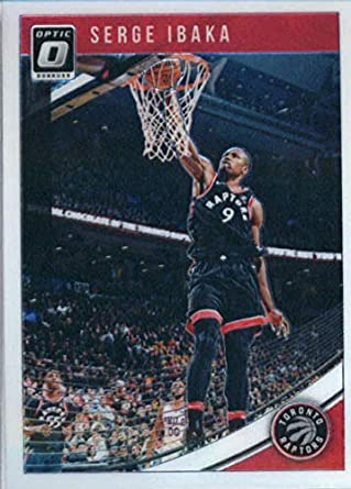 9c9ee34dc 2018-19 Donruss Optic Basketball  33 Serge Ibaka Toronto Raptors Official  NBA Trading Card