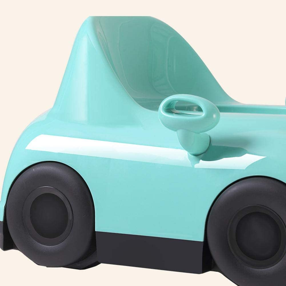 IMSHI 2 in 1 Teddy Potty Training Toilet Seat Car-Shaped Detachable Toilet Chair for Boys /& Girls Baby Training Stool