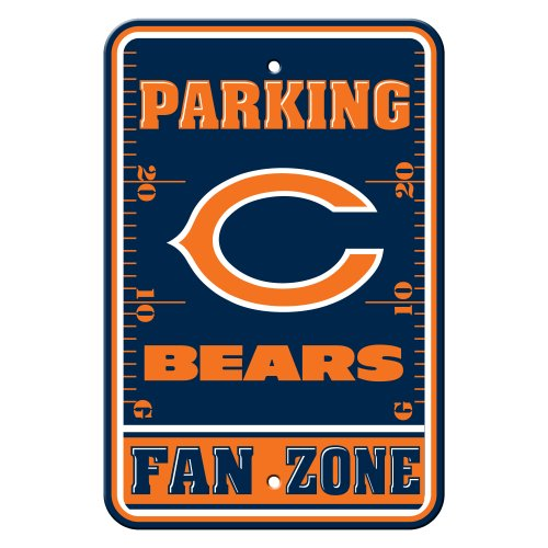 NFL Chicago Bears Plastic Parking Signs
