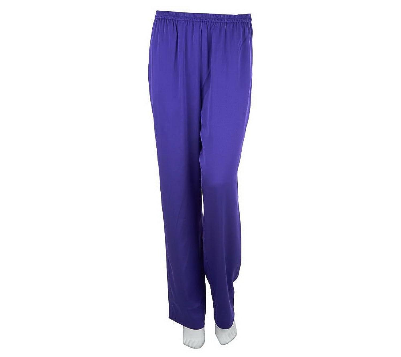 Bob Mackie Regular Straight Leg Pull-on Pants