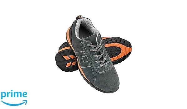 color gris y naranja talla 42 Zapatos de seguridad Reis Brneutron42
