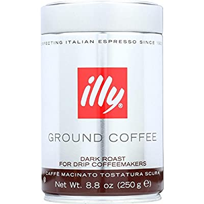 illy Caffe Scuro Drip Grind (Dark Roast, Black Band) from illy