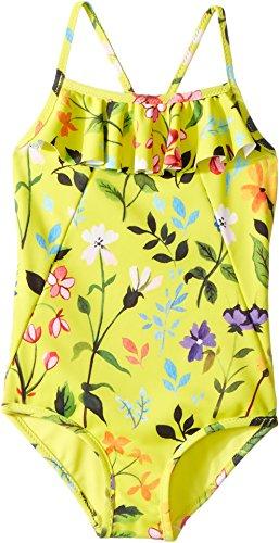 Oscar de la Renta Childrenswear Baby Girl's Springfield Ruffle Swimsuit (Toddler/Little Kids/Big Kids) Sunshine 3T by Oscar de la Renta