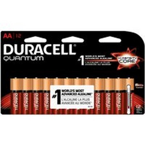 Duracell Alkaline Battery Aa Carded 12 Pack