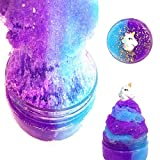Toys : Unicorn Fairy Putty Cloud Slime, Cotton Candy Slime Supplies Stress Relief Toy Scented Sludge Toy for Girls and Boys(120ml)