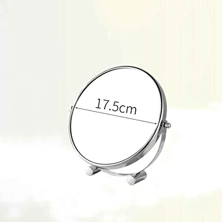 Espejos de mesa Cosmetic Mirror Desktop Mirror Magnifying Princess ...
