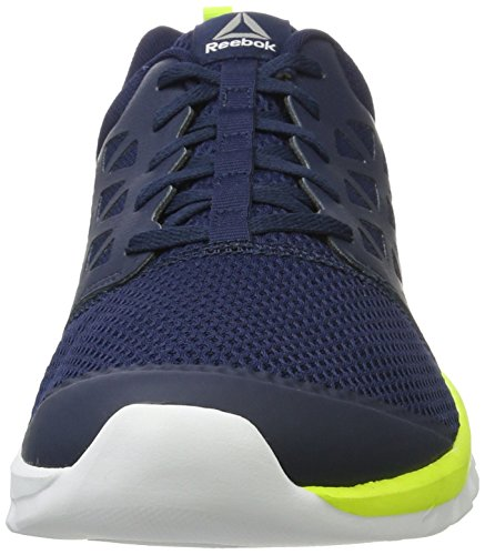 Reebok Bd5534, Zapatillas de Trail Running para Hombre Azul (Collegiate Navy /             Solar Yellow /             White /             Pewte)