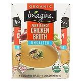 Imagine Foods Chicken Broth - Low Sodium - Case of 6-8 Fl oz.