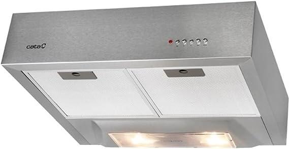 CATA SBOX 600 Inox - Campana Convencional Sbox600 Con 3 Velocidades: Amazon.es: Hogar