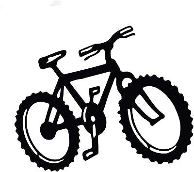 12.9 cm * 10.5 cm moda montaña deporte bicicleta vinilo coche ...