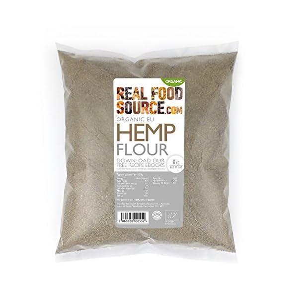 RealFoodSource Organic EU Hemp Flour 1kg