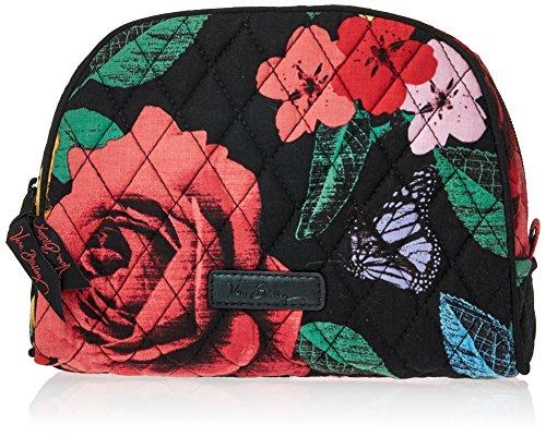 Vera Bradley Medium Zip Cosmetic, Havana Rose