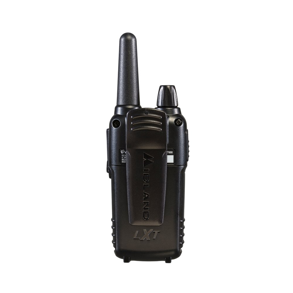 Midland - LXT600VP3, 36 Channel FRS Two-Way Radio - Up to 30 Mile Range Walkie Talkie, 121 Privacy Codes, NOAA Weather Scan + Alert (Pair Pack) (Black) by Midland (Image #4)