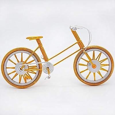 DQMSB Alambre de Aluminio DIY Manual de la Bicicleta Adornos ...
