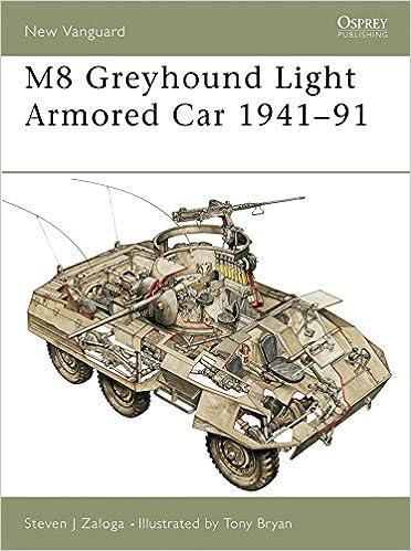 M8 Greyhound Light Armored Car 1941-91 (New Vanguard