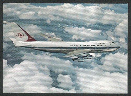 korean-air-lines-kal-boeing-747b-postcard-1970s