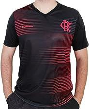 Camisa Flamengo Dry Parrot Preto E Vermelha Oficial