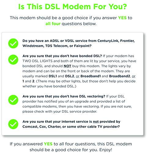 MOTOROLA VDSL2/ADSL2+ Modem + WiFi AC1600 Gigabit Router, Model MD1600, for Non-Bonded DSL from CenturyLink, Frontier, and Some Other DSL Providers by MTRLC (Image #3)